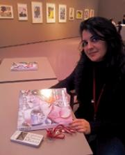 Adele Messina alla mostra di Chagall al Kunsthaus di Zurich