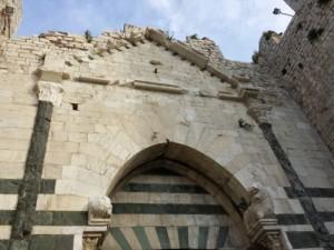Un particolare dell'entrata del Castello