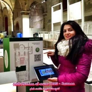 """Al Museo TAMO di Ravenna, """"Qr Code"""" per fruire di contenuti multimediali"""