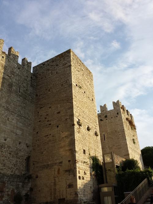 Il Castello dell'Imperatore visto dall'esterno