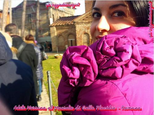 In coda al Mausoleo di Galla Placidia - Ravenna