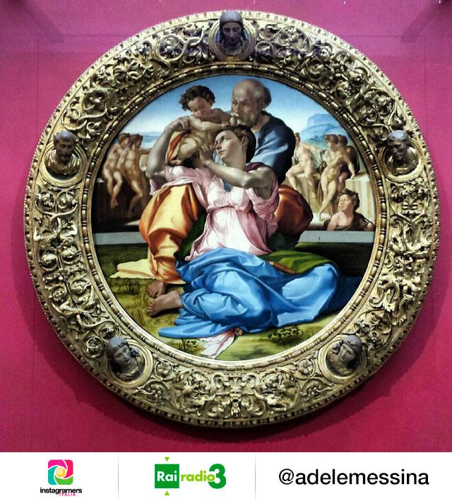Il Tondo Doni Michelangelo Buonarroti - Galleria degli Uffizi. Scelto per il Museo Nazionale di Rai Radio 3