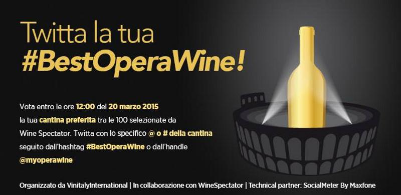 Fino al 20 marzo è possibile votare tra le 100 cantine selezionate da Wine Spectator